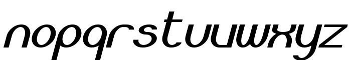 Bloomingworth Italic Font LOWERCASE