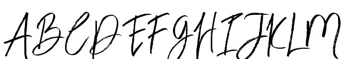BloomyScriptFree Font UPPERCASE