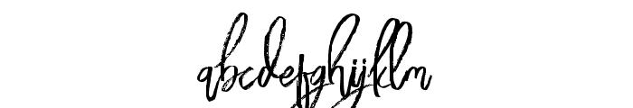 BloomyScriptFree Font LOWERCASE