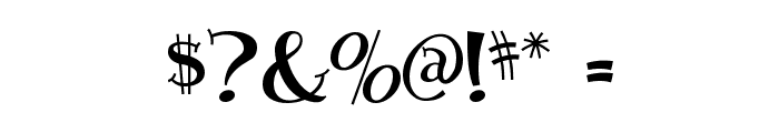 Blossom Font OTHER CHARS