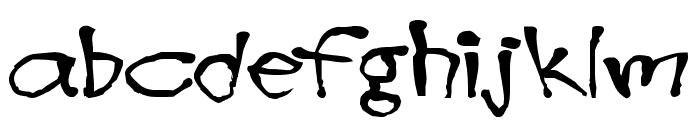 Blottooo Font LOWERCASE