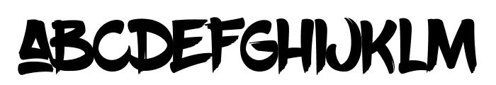 BlowBrush Font LOWERCASE