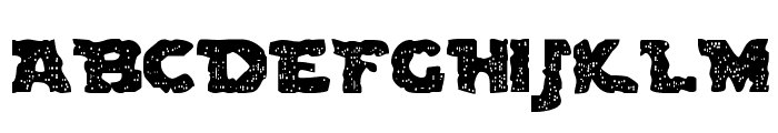 Blown DroidRegular Font UPPERCASE