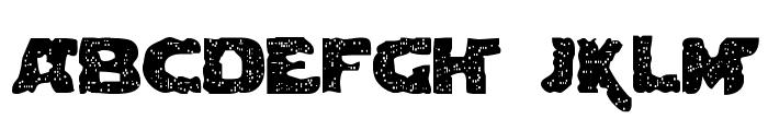 Blown DroidRegular Font LOWERCASE