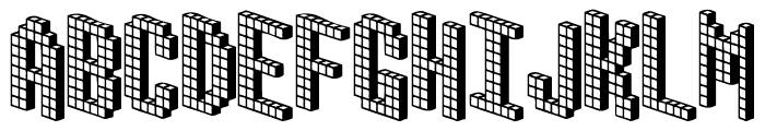 Blox [BRK] Font UPPERCASE