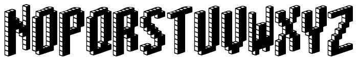 Blox [BRK] Font LOWERCASE