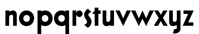 Bloxhall Sample Font LOWERCASE