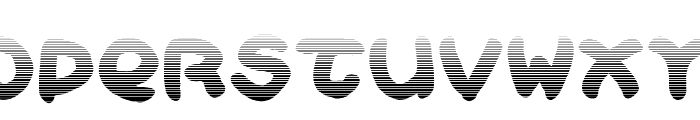 Bloxxy Font LOWERCASE