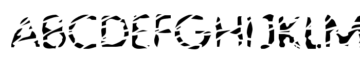 Blubb Regular Font UPPERCASE