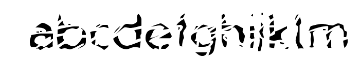 Blubb Regular Font LOWERCASE