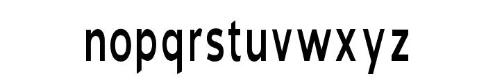 Blue Highway Condensed Regular Font LOWERCASE