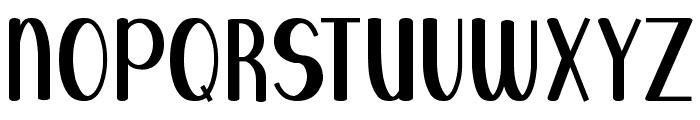 Blue Melody UltraBold Font UPPERCASE
