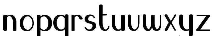 Blue Melody UltraBold Font LOWERCASE