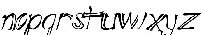 Blue Mutant Double Serif Font UPPERCASE