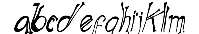 Blue Mutant Double Serif Font LOWERCASE