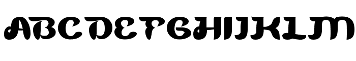 Blue Ocean Font UPPERCASE