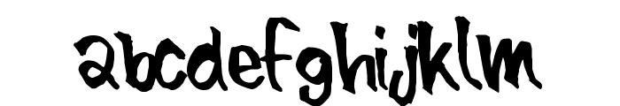 BlueBrush-Normal Font LOWERCASE