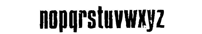 BlueCake Font LOWERCASE