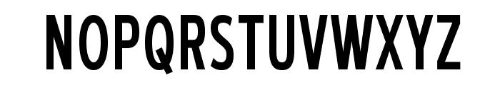 BlueHighwayCondensed-Regular Font UPPERCASE