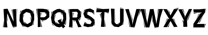BlueHighwayLinocut-Regular Font UPPERCASE