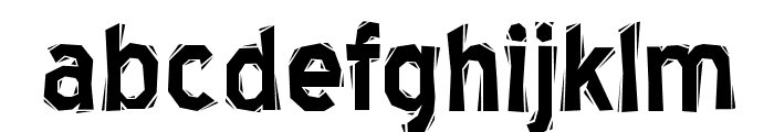 BlueHighwayLinocut-Regular Font LOWERCASE