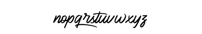 BlueKing Font LOWERCASE