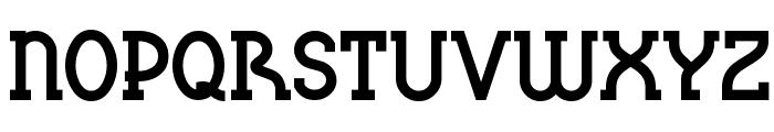 BluePlateSpecialSW Font UPPERCASE