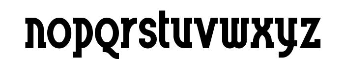 BluePlateSpecialSW Font LOWERCASE