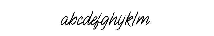 BlueQueen Font LOWERCASE