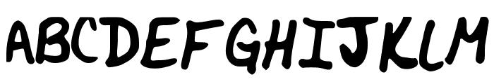 BlueRoan Font UPPERCASE