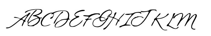 BlueSkies Font UPPERCASE
