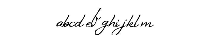 BlueSkies Font LOWERCASE