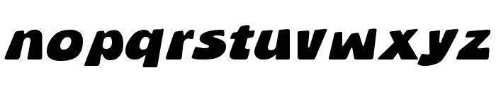 BlueStone Font LOWERCASE
