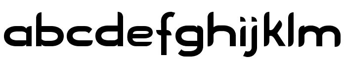 Blue Font LOWERCASE