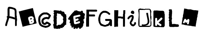 Blueberry Hills Regular Font UPPERCASE