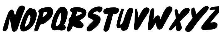 Blueberry Italic Font LOWERCASE