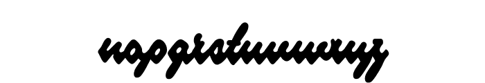 Blueberry Script PERSONAL USE Font LOWERCASE