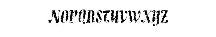 BlueberryWaffle Font UPPERCASE
