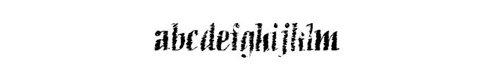 BlueberryWaffle Font LOWERCASE