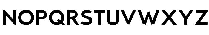 Bluebird Extended Font UPPERCASE