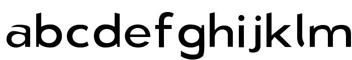 Bluebird Light Extended Font LOWERCASE