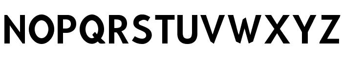 Bluebird Narrow Font UPPERCASE