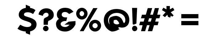 Bluebird SFBold Extended Font OTHER CHARS