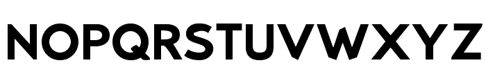 Bluebird SFBold Extended Font UPPERCASE