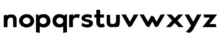 Bluebird SFBold Extended Font LOWERCASE