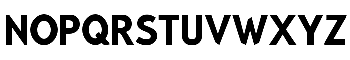 Bluebird SFBold Narrow Font UPPERCASE