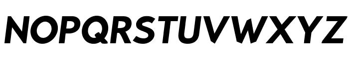 Bluebird SFBold Oblique Font UPPERCASE