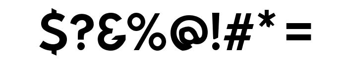 Bluebird Font OTHER CHARS