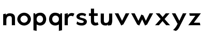 Bluebird Font LOWERCASE