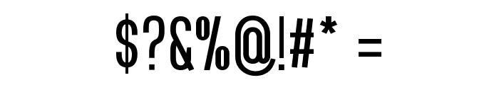 Bluefish Demo Font OTHER CHARS